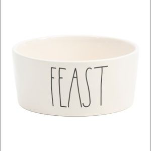 New Rae DunN FEAST 8in dog bowl